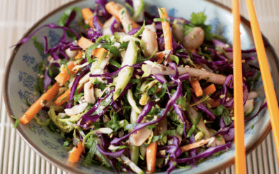 Asian Salad with Chilli, Lemon & Ginger