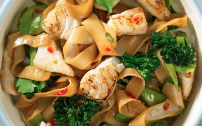 Snapper & Vegetable Stir-Fry