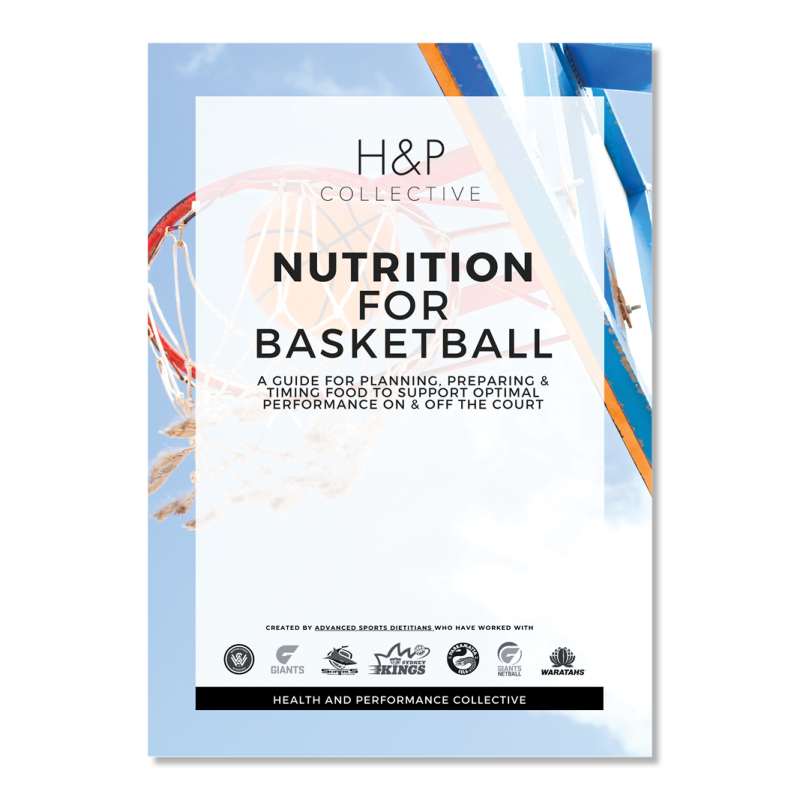 Nutrition for Basketball cover